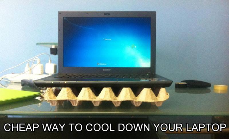 Gute Möglichkeit seinen Laptop vor Überhitzung zu schützen