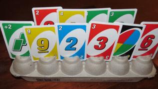 Kartenhalter eierbecher
