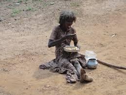 hungernde menschen