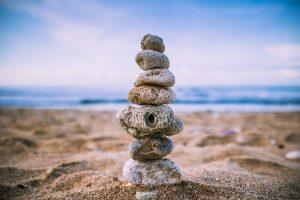 Inneres Gleichgewicht im Leben